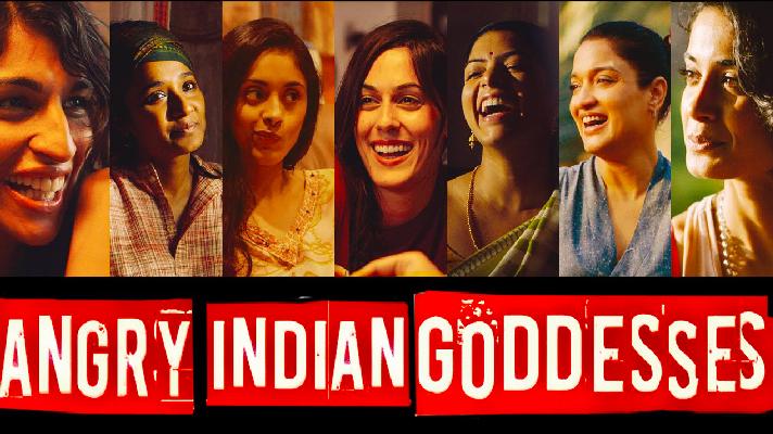 Les femmes héroïnes des films.  'Déesses indiennes en colère' sorti en 2016, et réalisé par Pan Nalin.